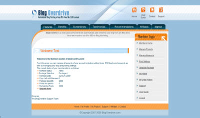 SEO Blogging Software